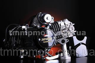 Двигатель ТММР Racing АЛЬФА Дельта-125см3 54мм алюминиевый цилиндр механика чёрный NEW, фото 2