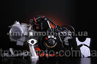 Двигатель ТММР Racing АЛЬФА Дельта-125см3 54мм алюминиевый цилиндр механика чёрный NEW, фото 3
