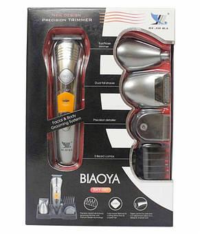 Машинка для стрижки, триммер с аккумулятором BIAOYA BAY-580, фото 2
