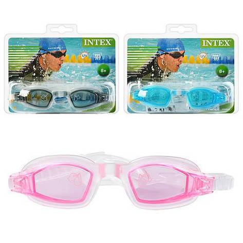 Очки для плавания детские, возраст от 8 лет Intex 55682, фото 2