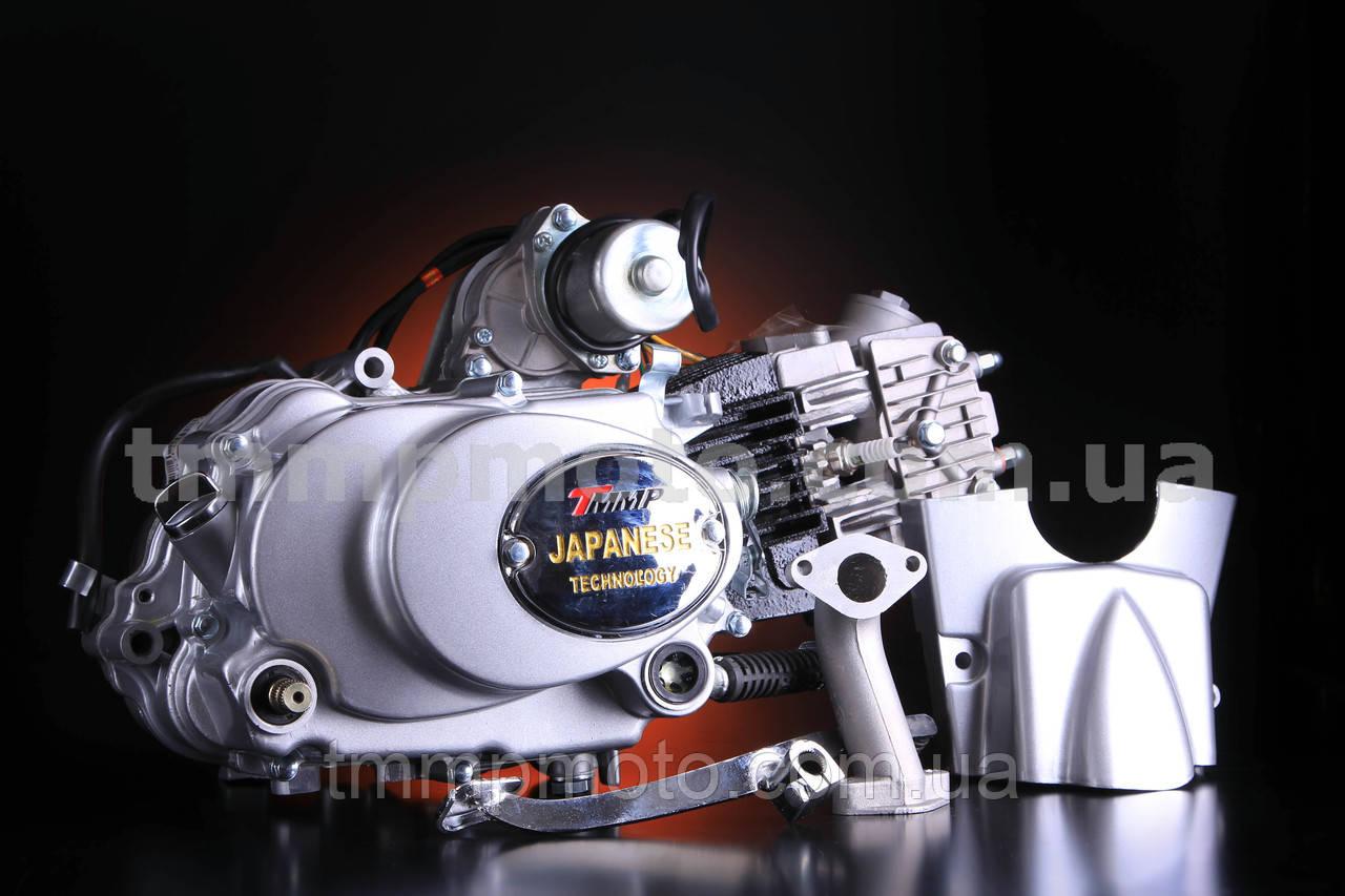 Двигун Alpha-107см3 52,4 мм механіка заводський оригінал