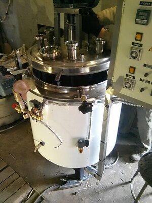 Котел варочный с мешалкой кпэ-100 ваккумный с насосом и гомонизатором, фото 1