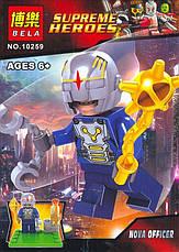 Конструктор 10256-10259 SUPER HERO 4 вида, фото 2