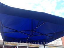Раскладной шатер 3*3 м палатка чёрный каркас, фото 2