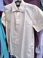 Детская рубашка на мальчика Школа Bagin, короткий рукав белый, фото 3