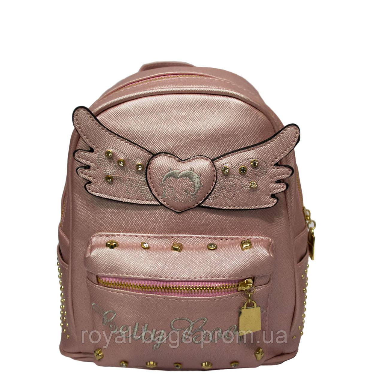 Рюкзак Betty boop 3 Цвета Розовый