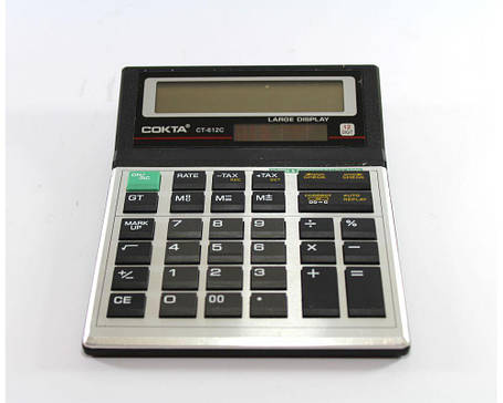 Калькулятор электронный KK T612C, фото 2