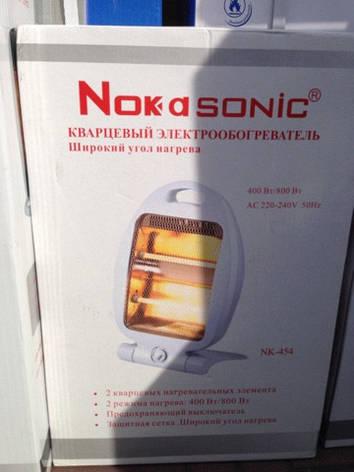 Кварцевый электрообогреватель Nokasonic NK-454 код  454, фото 2