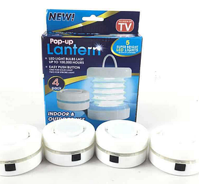 Светильник, фонарь набор Pop-up Lantern (4шт), фото 2