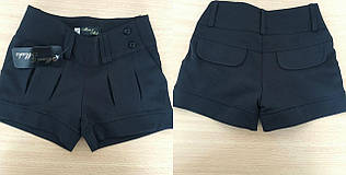 Модные шорты для девочек в школу 6-11 лет