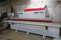 Кромкооблицовочный станок KDT360 бу проходной 11г.