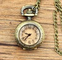 Женские винтажные малые (2,5см) часы подвеска, фото 1