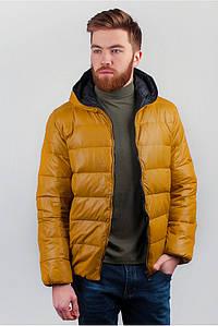 Мужская куртка TS №249KF001 горчичный