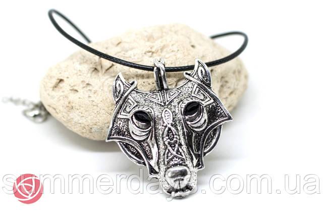 Кулон скандинавский волк