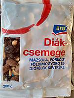 Орехи ассорти, Орехи, арахис, кешью, миндаль, фундук 200 гр