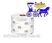Туалетная бумага Mid-size в миди рулонах ультамягкая Tork Premium