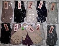 Женская ангоровая,одинарная перчатка™Корона, фото 1
