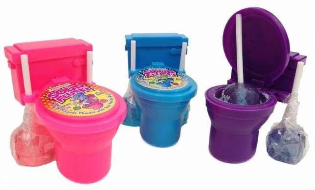 """Kidsmania Sour Candy Toilet Необычные конфеты """"Унитазики"""""""