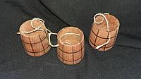 Ведро буковое промасленное, в-7 см 25/20 (цена за 1 шт. + 5 гр.)