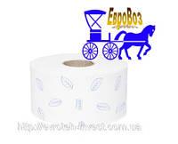 Туалетная бумага в мини рулонах джамбо супер мягкая Premium Tork