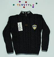 Вязаный свитер на мальчика на  3-5 лет
