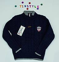 Вязаный свитер на мальчика 5 лет
