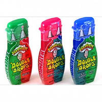 Жидкие конфеты из США. Warheads SUPER SOUR double drops.