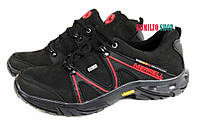 Мужские кожаные кроссовки  Merrell Black Нубук 43р