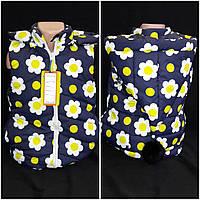 Оригинальная жилетка для девочки с бубоном, 98-140 см., 550/480 (цена за 1 шт. + 70 гр.)