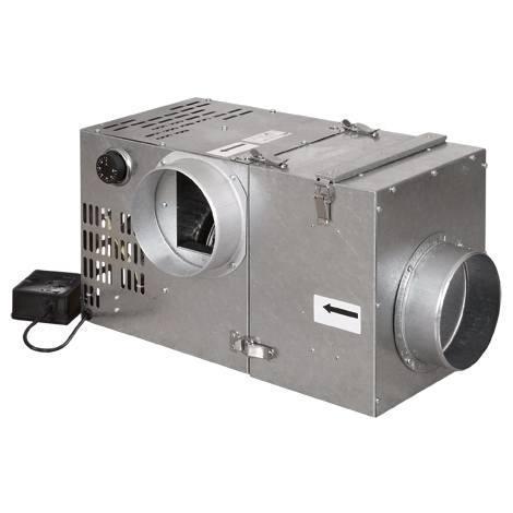 Турбина для камина (турбовентилятор) PARKANEX 400 м3/ч с фильтром