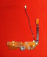 Шлейф LG D325 / Optimus L70 Dual с разъемом и коаксиальным кабелем