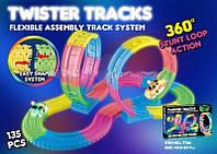Игрушка Гибкий светящийся трек Twister Tracks 7786  (135 дет)
