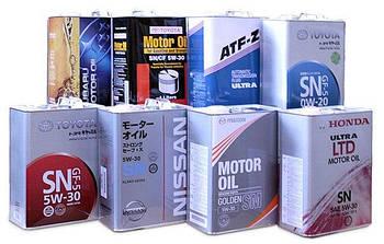 Автомобильные масла и жидкости