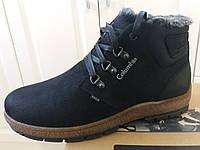 Кожаная мужская зимняя обувь из Польши
