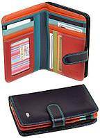 Женский кожаный кошелек Dr.Bond Фиолетовый, фото 1