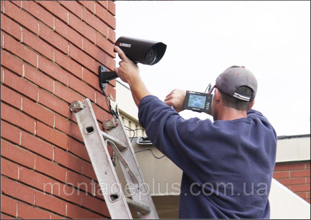 Установка видеонаблюдения и монтаж видеосистем