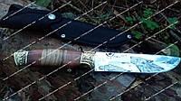 Нож охотничий Волк, прочный, надежный