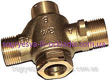 Клапан латунный трехходовой резьба (б.ф.у, Китай) котлов газовых Solly Comfort, арт. 3300400016, к.з. 0888