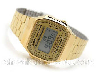 Часы Casio Illuminator a168 Gold
