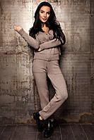 """Кашемировый костюм """"Шейла"""" джинс,серый,беж,молоко,мокко,песочный"""