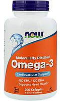 Now Omega-3 200 softgels caps