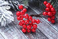 Ягоды рябины красного цвета около 40 шт/уп., фото 1