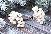 Ягоди горобини білого кольору близько 40 шт/уп., фото 1