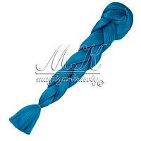 Канекалон для кос, светло синий
