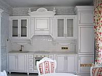 Кухни на заказ с деревянными фасадами Прованс