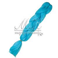 Канекалон для кос, голубой