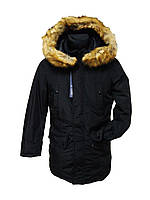 Зимняя мужская парка (куртка)