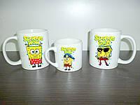 """Чашки для всей семьи """"Спанч Боб"""""""