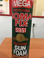 Монтажная ппена Soma FIX проф MEGA 850 мл (всесезонная) S951