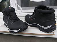 Зимние кожаные ботинки для мужчин